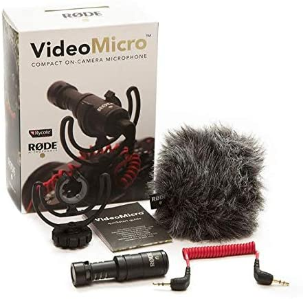Rode Compact On Camera Microphone With Rycote Lyre Shock Mount