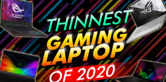Thinnest Gaming Laptop Of 2020