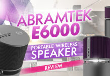 Abramtek E600 Portable Wireless Speaker Review