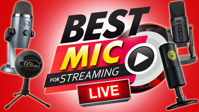 Best Mic For Streaming Live!