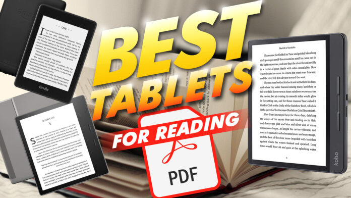 Best Tablets For Reading Pdf