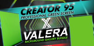 Creator 95 Professional Collapsible Green Screen + Valera Background Gallery Bundle Review