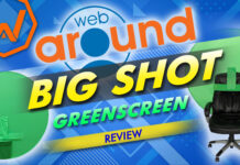 Webaround The Big Shot Green Screen Review