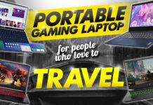 portable gaming laptops for people who love to travel