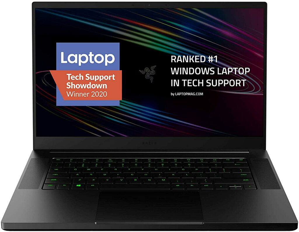 2020 razer blade 15 base model laptop