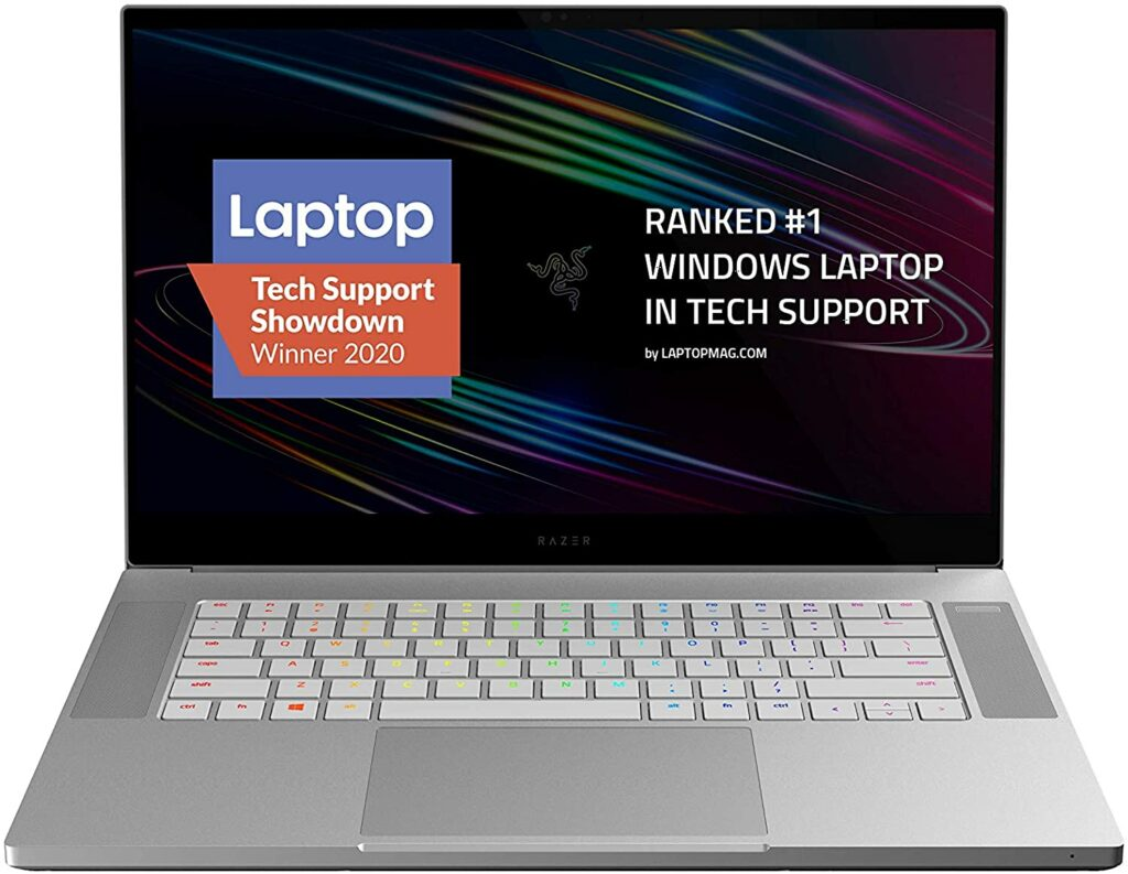 2020 razer blade 15 studio edition laptop