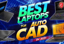 best laptops for autocad in 2021