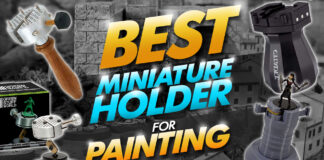best miniature holder for painting