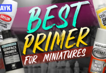best primer for miniatures
