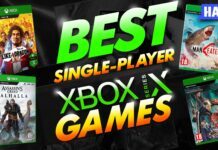 best single player xbox series x games