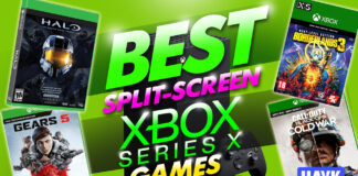 best split screen xbox series x games