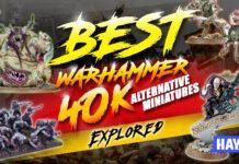 best warhammer 40k alternative miniatures explored