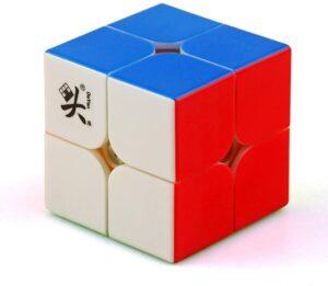 cuberspeed dayan tengyun m 2x2 magnetic stickerless speed cube
