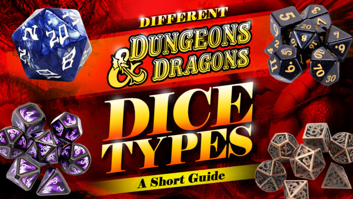 different d&d dice types
