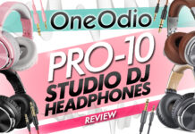 oneodio pro 10 dj studio headphones review