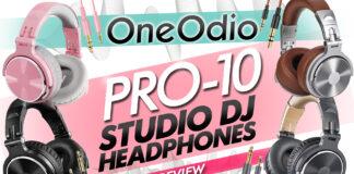 oneodio pro 10 dj studio headphones review