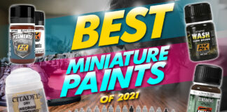 the best miniature paints of 2021
