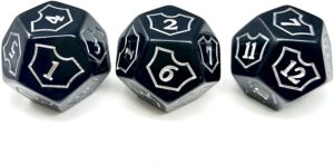 the d12 dice