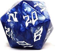 the d20 dice