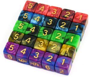 the d6 dice