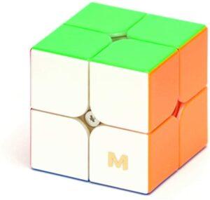 cuberspeed yj mgc elite m 2x2 stickerless speed cube