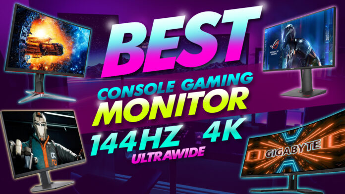 Best Console Gaming Monitor