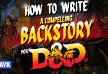 how to write a compelling backstory for d&d