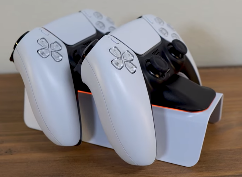 nexigo ps5 controller charger with thumb grip kit