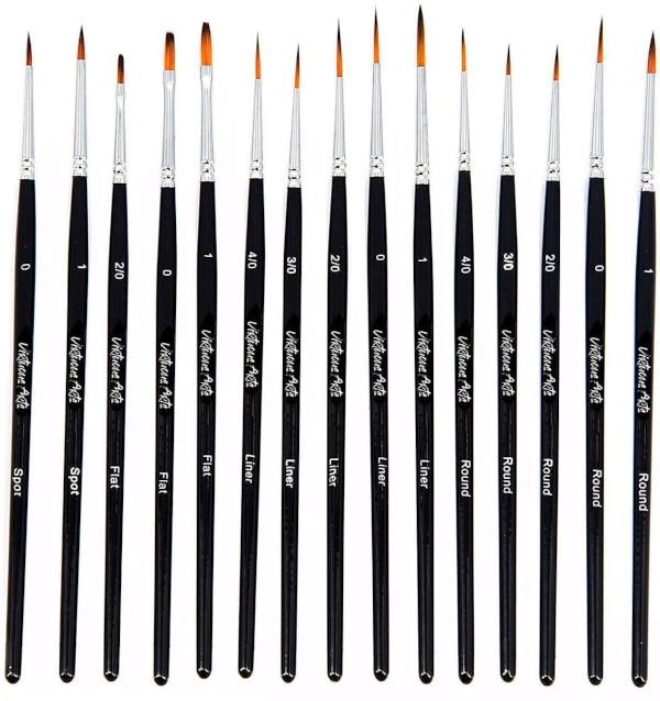 fine paint brush set by virtuoso