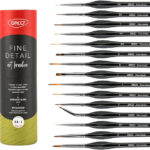 paint brush set by daco