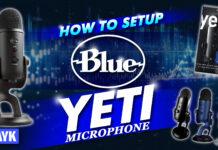 how to setup blue yeti microphone