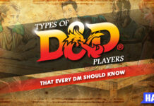 the types of d&d players that every dm should know