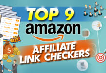 top 9 amazon affiliate link checkers