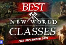 best new world classes for september 2021