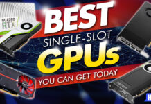 best single slot gpus you can get today