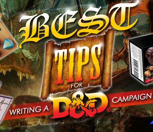 best tips for writing a d&d campaign